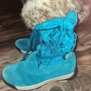 Lands End snow boots size 7 womens